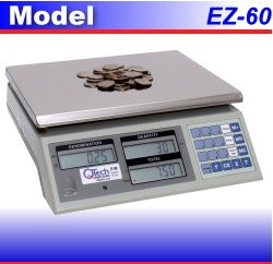 EZ-60 Coin Counting Scale